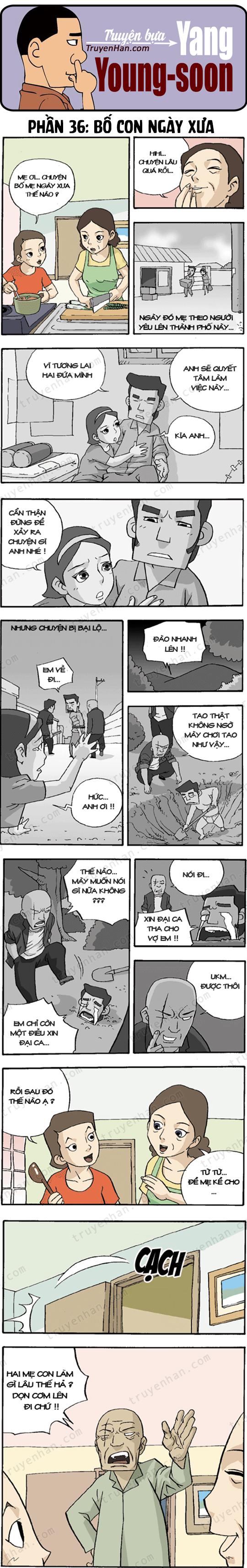 Yang Young-Soon phần 36: Bố con ngày xưa