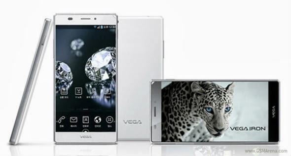 Smartphone Pantech Vega Iron, OS Android