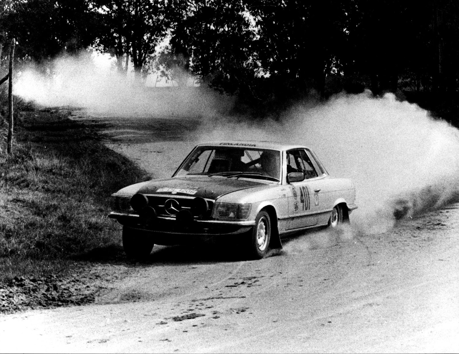 The Automobile and American Life: The Mercedes-Benz 450 SLC Rally ...