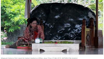 Megawati: Dulu Keluarga Tak Setuju Makam Bung Karno di Blitar