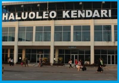 Bandara Haluoleo, Kendari