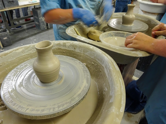 Wedgwood Pottery Making