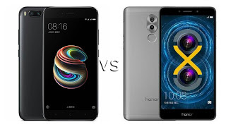 Xiaomi Mi 5X vs Honor 6X