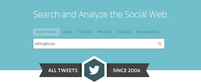 2006 to now all twitter by Topsy.com