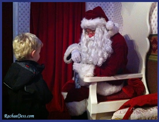 Visit to the North Pole at Peppa Pig World