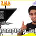 إصنع  شاشة التلقين بنفسك بـ 0 دولار | How to Make Teleprompter |