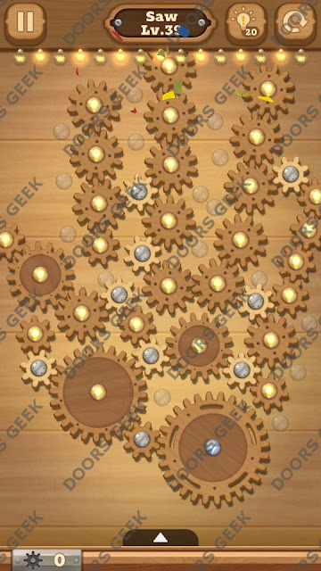 Fix it: Gear Puzzle [Saw] Level 39 Solution, Cheats, Walkthrough for Android, iPhone, iPad and iPod