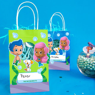 bubble guppies party bags