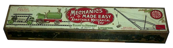 Mechanics Made Easy first outfit 1904 box