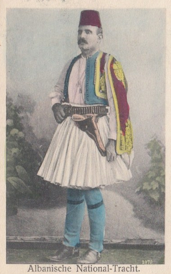 Albanische national tracht