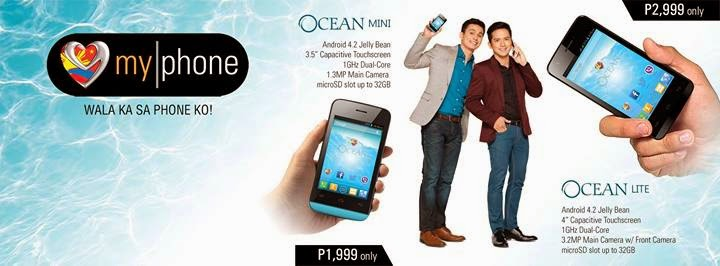MyPhone Ocean Mini and Ocean Lite