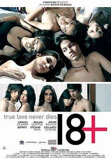 Poster Film 18+: True Love Never Dies