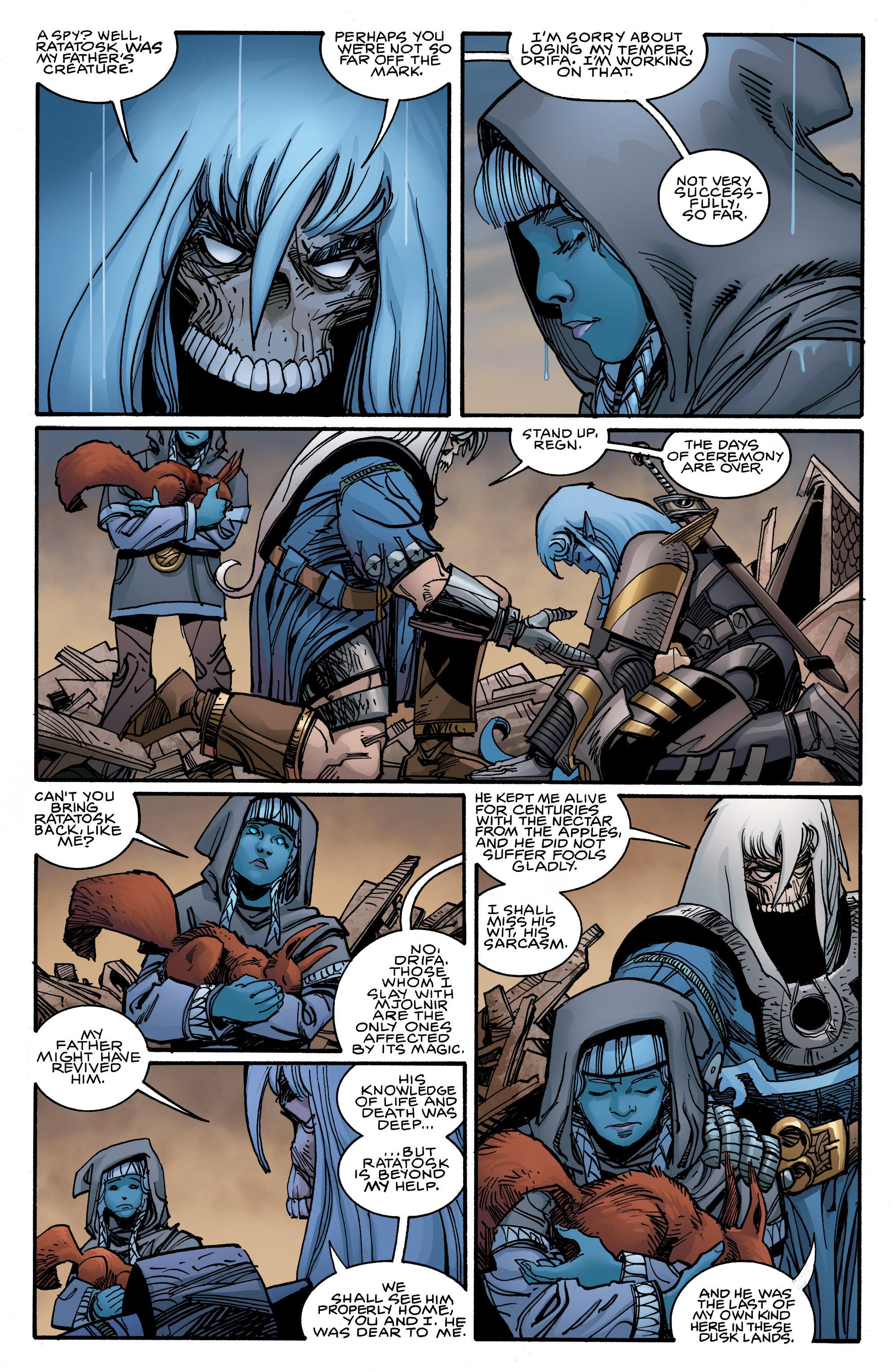 Read online Ragnarok comic -  Issue #9 - 17