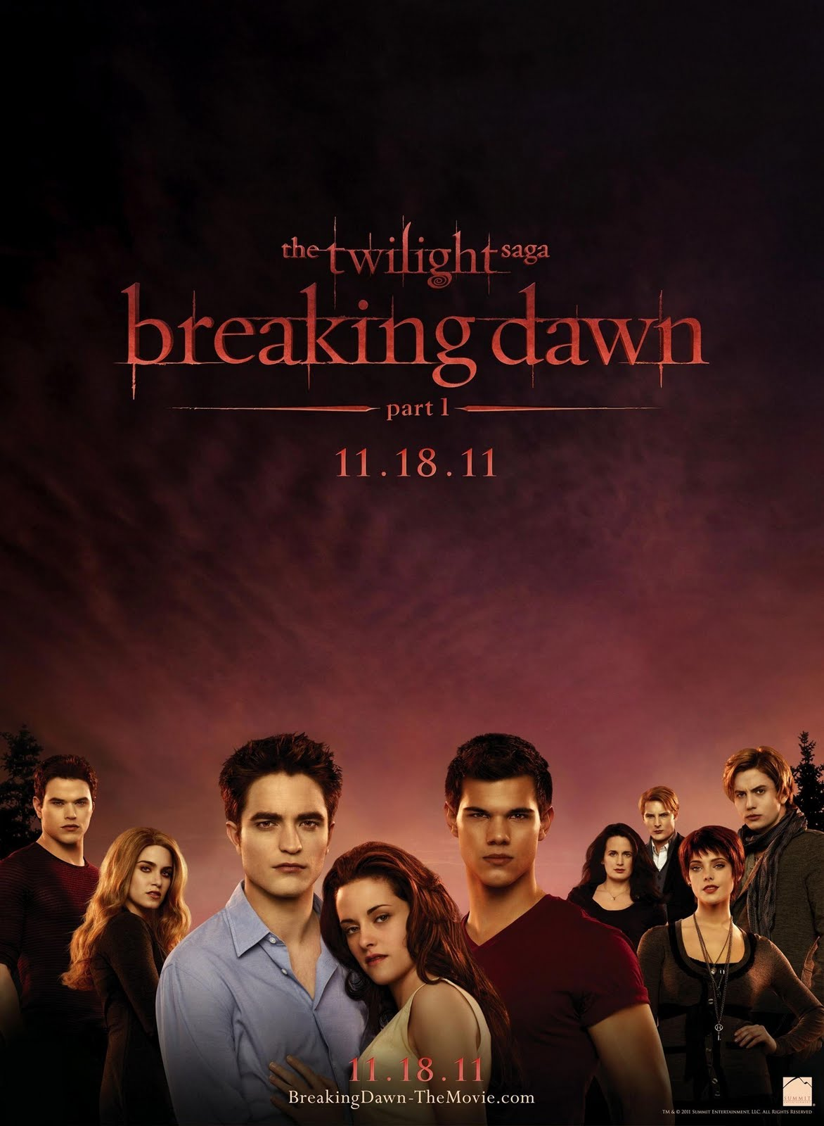 Movies: Posters Of The Twilight Saga: Breaking Dawn