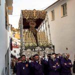 La Madre y Señora de la Merced procesionará sobre el trono de la Virgen de los Dolores de Almogía en su Rosario Extraordinario