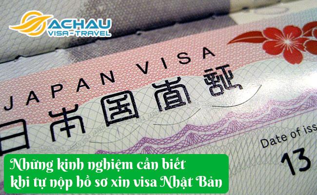 nhung kinh nghiem can biet khi tu nop ho so xin visa nhat ban