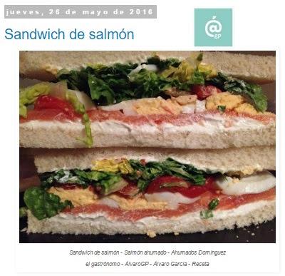 Recetas TOP10 en el gastrónomo - noviembre 2016 - Tostadas taza de Batman en  Neupic - Pringá de cocido madrileño - Perrito Tex-Mex - Cañaíllas en escabeche - Conejo al ajillo - Patatas bravas - Sandwich de salmón ahumado - Ahumados domínguez - Arroz con almejas en salsa verde - Hamburguesa Star Wars - Star Wars Burger - Sopa de SEO - SEO Soup - el gastrónomo - ÁlvaroGP - el troblogdita