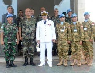 Komandan Satgas Maritim TNI XXVIII-I/UNIFIL Dianugerahi LAF Medal