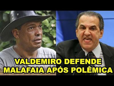 Valdemiro Santiago defende a Silas Malafaia