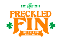The freckled Fin is an Irish pub with authentic Irish pub grub on Anna Maria, Island, Florida