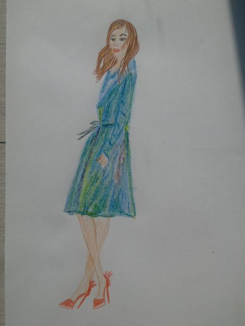 #heels #fashion #modnailustracija #bojice #modaodaradosti
