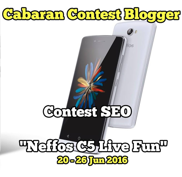 This Neffos C5 Live Fun post is part of an SEO Contest