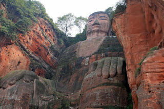 BUDDHA IN CLIFF