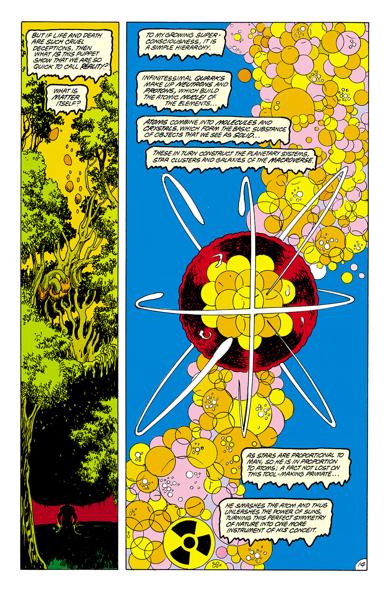 Swamp Thing (1982) Issue #75 #83 - English 14
