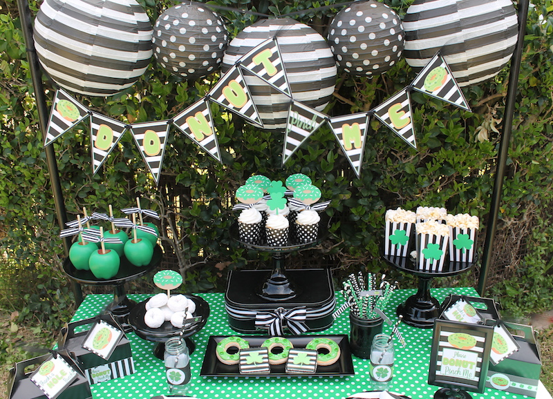 Donut Pinch Me St Patrick S Day Party Ideas Laura S