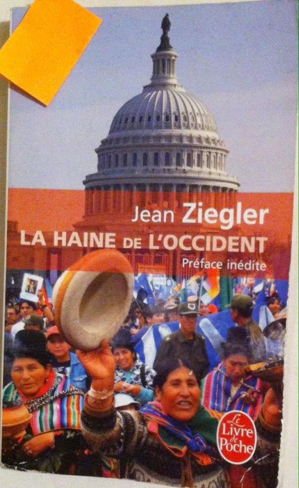 Libro: La haine de l'occident - Jean Ziegler