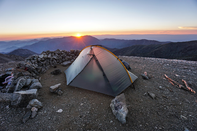 Double Tent in National Park