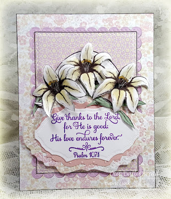 Our Daily Bread Designs Stamp Set: Many Thanks, Our Daily Bread Designs Paper Collections: Easter Card  2016, Pastel Paper Pack 2016, Our Daily Bread Designs Custom Dies: Vintage Flourish Pattern, Vintage Labels, Double Stitched Rectangles, Stitched Ovals