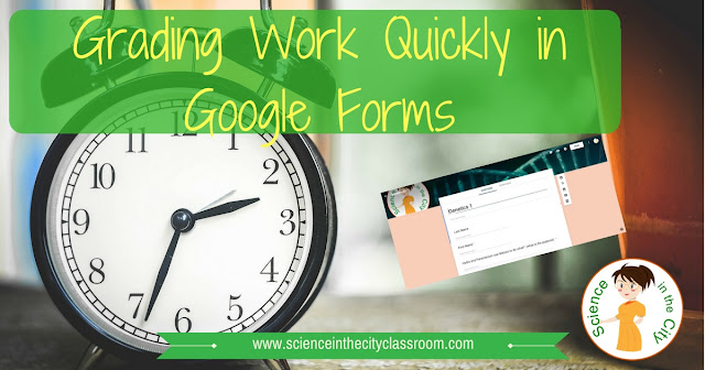 Tips to save time grading work in google forms