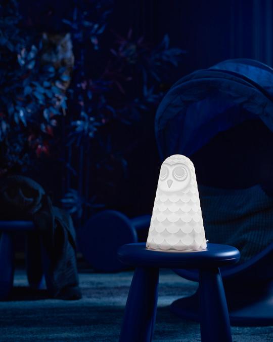 IKEA, Solvo bordslampa, Uggla.