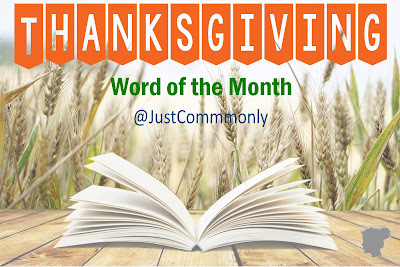 Word of the Month Series