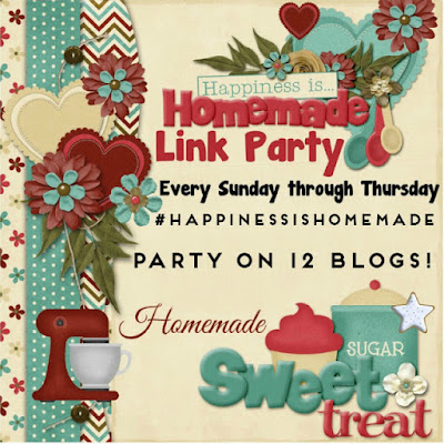 Welcome to another week for Happiness Is Homemade Link Party!