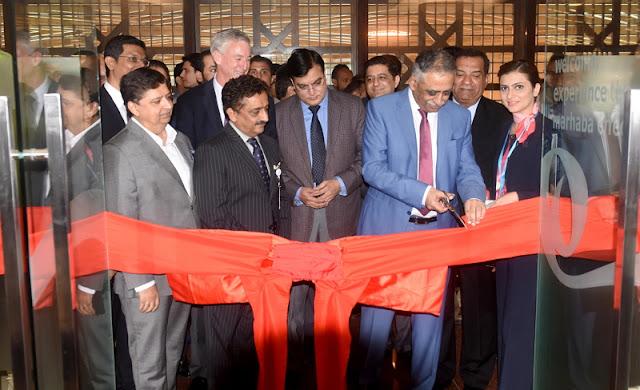 کراچی ایئرپورٹ پر جیریز ڈناٹا نے نئے مرحبا لاؤنج کا افتتاح کردیا