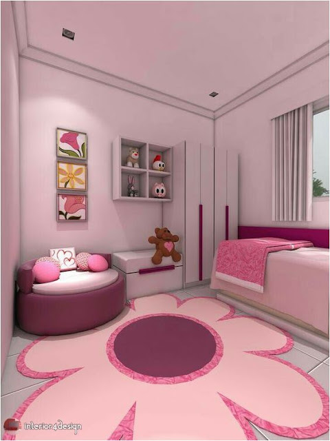 pink bedrooms for teen girls 1