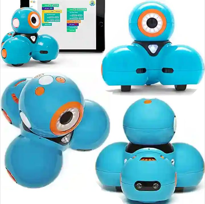 Wonder Dash Coding Robot with Voice Activation - Programmable and Interactive Robotic Play Toy - Helps Kids Learn to Code