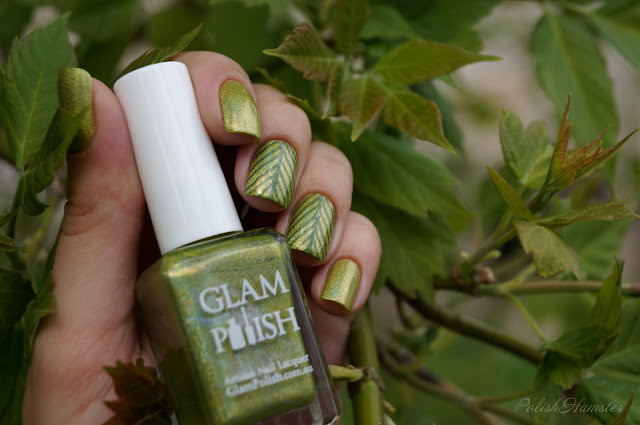 "Glam Polish ""ZAP!"" & stamping BP-L15"