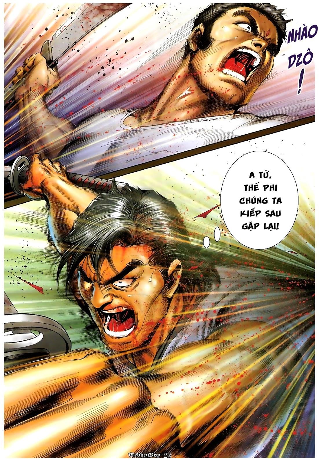 Người Trong Giang Hồ - Chapter 1227: Thái Tử Chung Cực Chiến - Pic 19