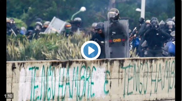 Guardia intenta justificar muerte del estudiante Fabián Urbina