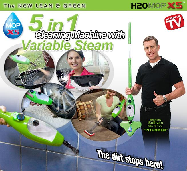 H2o X5 Steam Cleaner Now Available In Pakistan H2o X5
