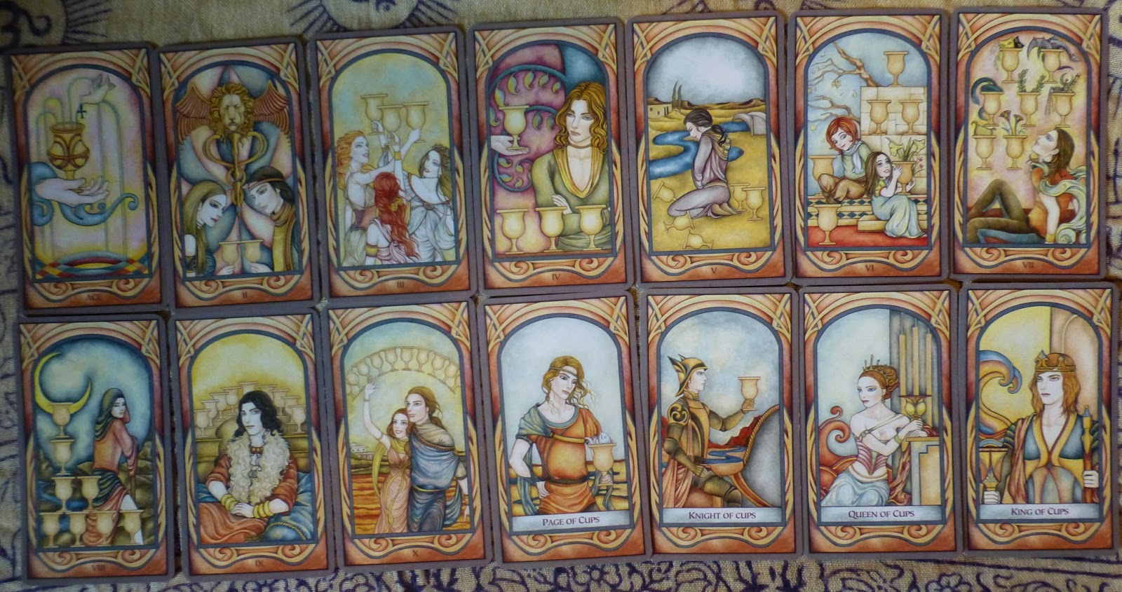 Queen Of Chalices Introducing The Fenestra Tarot