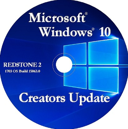 Free Download Windows 10 Pro Creators Update 15063 (X86 & X64)