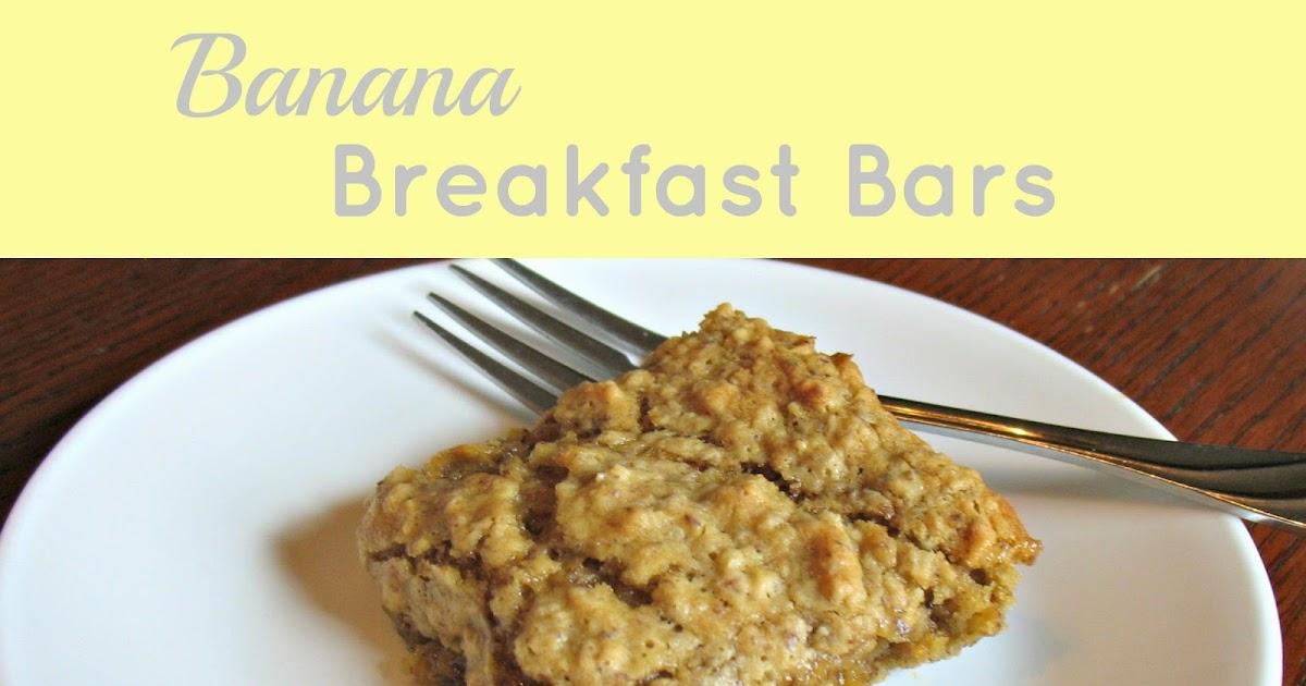 Old House Homestead Banana Breakfast Bars