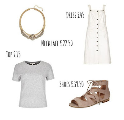Three Ways to Wear - The White Pinafore Dress