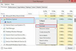 Cara Menghentikan dan Menjalankan Aplikasi Lewat Task Manager