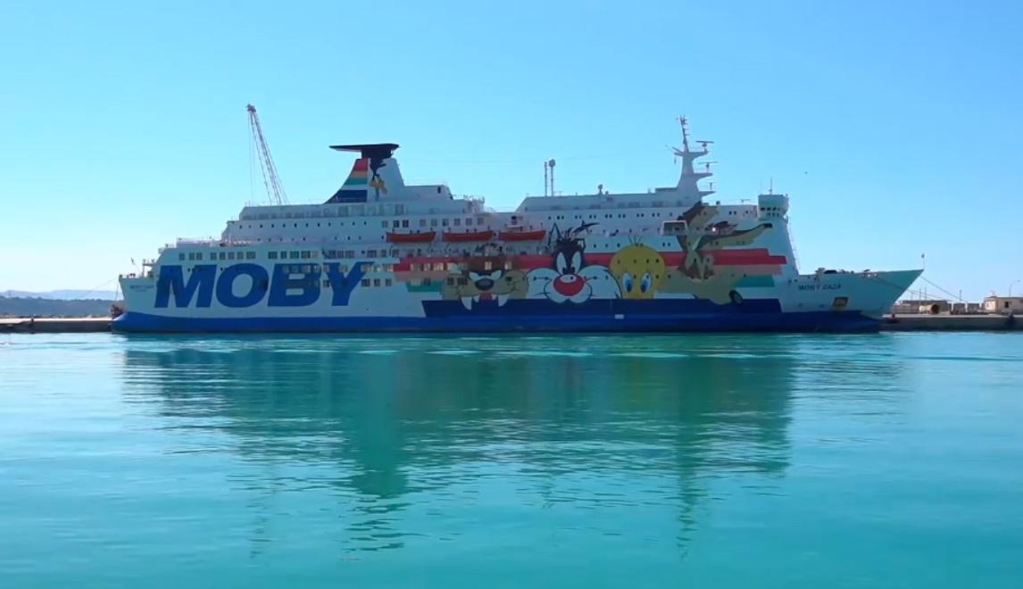 Nave-quarantena Moby Zazà