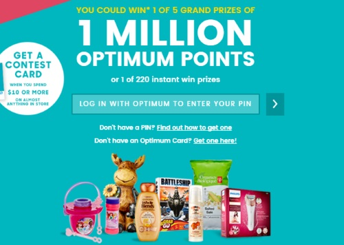 Shoppers Drug Mart Spring It On Win 1 Million Optimum Points Contest
